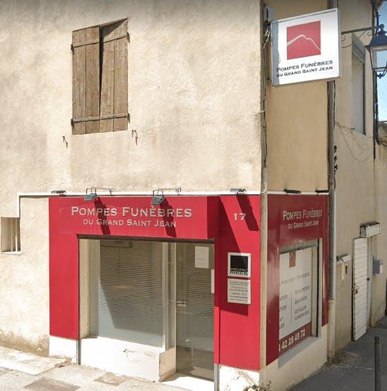 Photographie de la Pompes Funèbres du Grand Saint-Jean à Aix-en-Provence