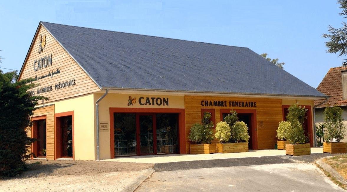 Photographie Pompes Funèbres Caton de Lamotte-Beuvron