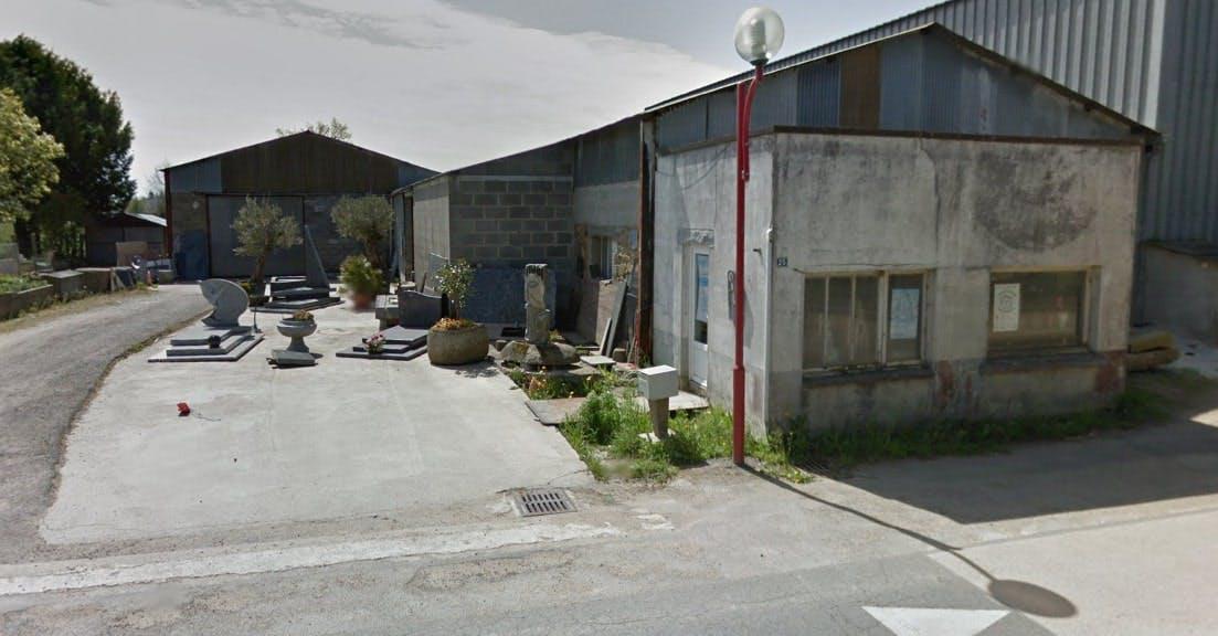 Photographies de la Marbrerie Petit Frères à Saint-Sauveur-des-Landes