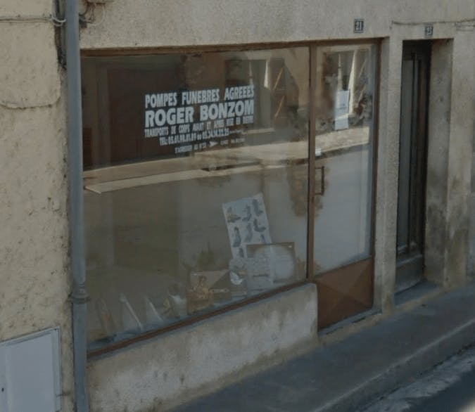 Photographie Pompes Funèbres Bonzom Roger de Martres-Tolosane