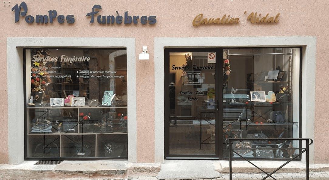 Photographie de la Pompes Funèbres Cavalier Vidal à Marvejols