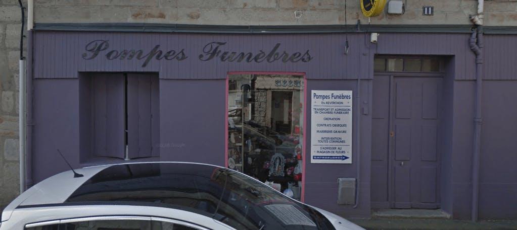 Photographie de la Pompes Funèbres Reverchon à Saint-Genest-Lerpt