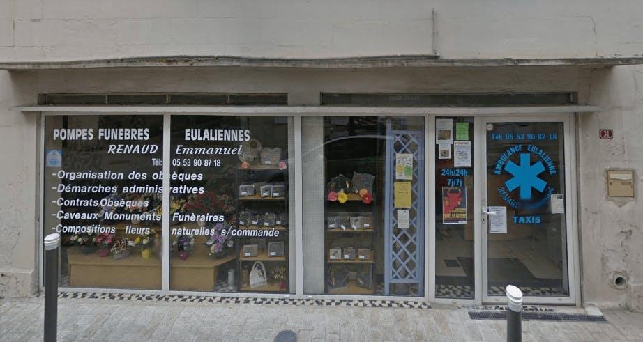 Photographie Pompes Funèbres Eulaliens de Saint-Aulaye