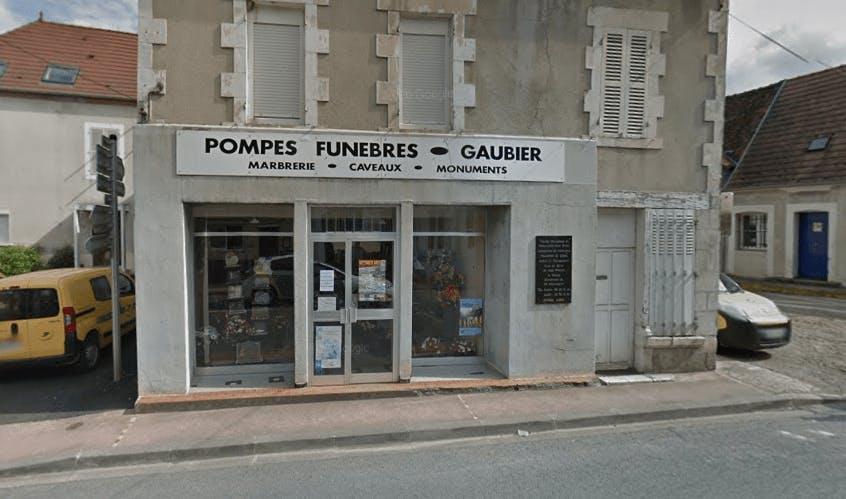 Photographie de la Pompes Funèbres Gaubier à Jouet-sur-l'Aubois
