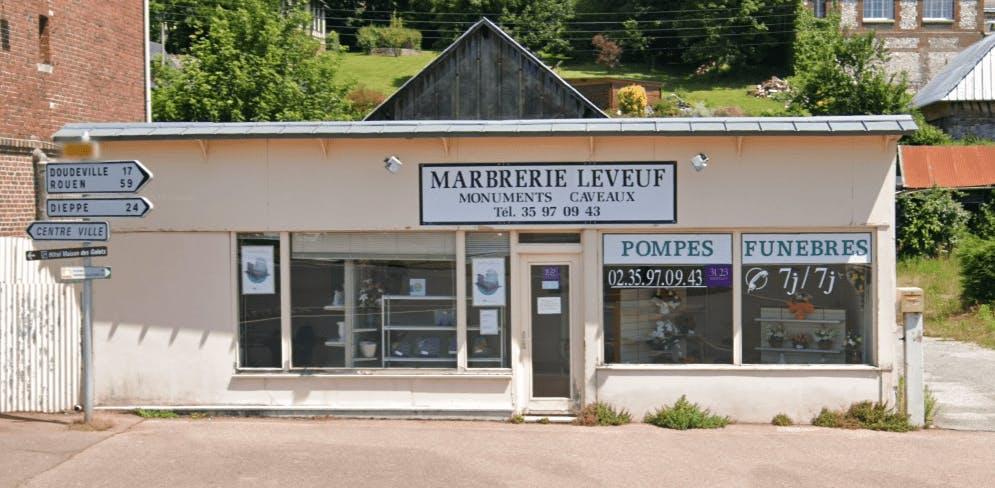 Photographie Marbrerie et Pompes funèbres LE VEUF de Saint-Valery-en-Caux