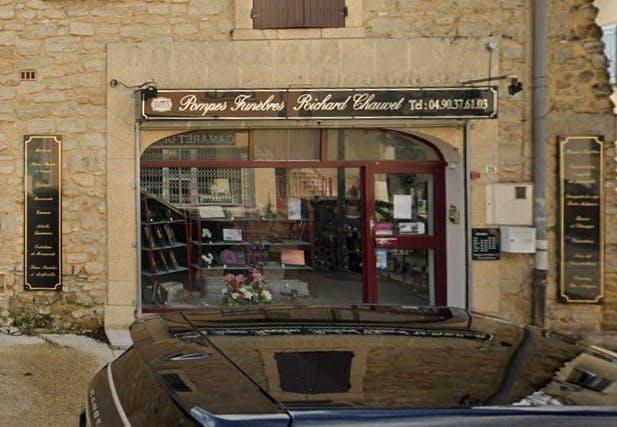 Photographies des Pompes Funèbres Chauvet Richard à Camaret-sur-Aigues