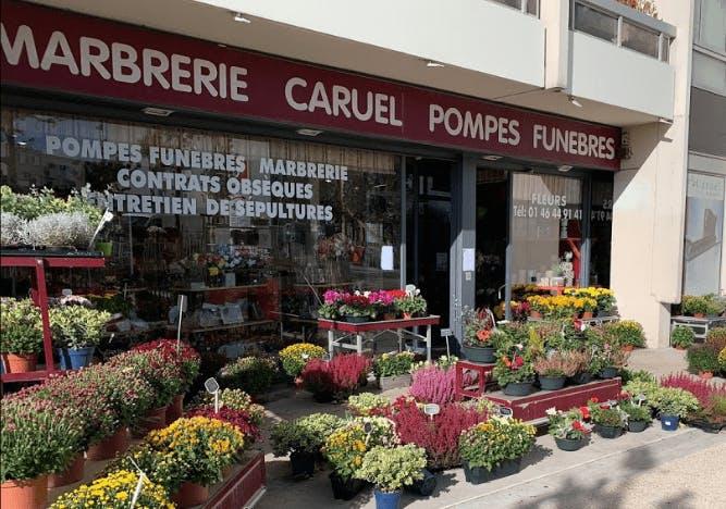 Photographie de la Pompes Funèbres Caruel à Issy-les-Moulineaux