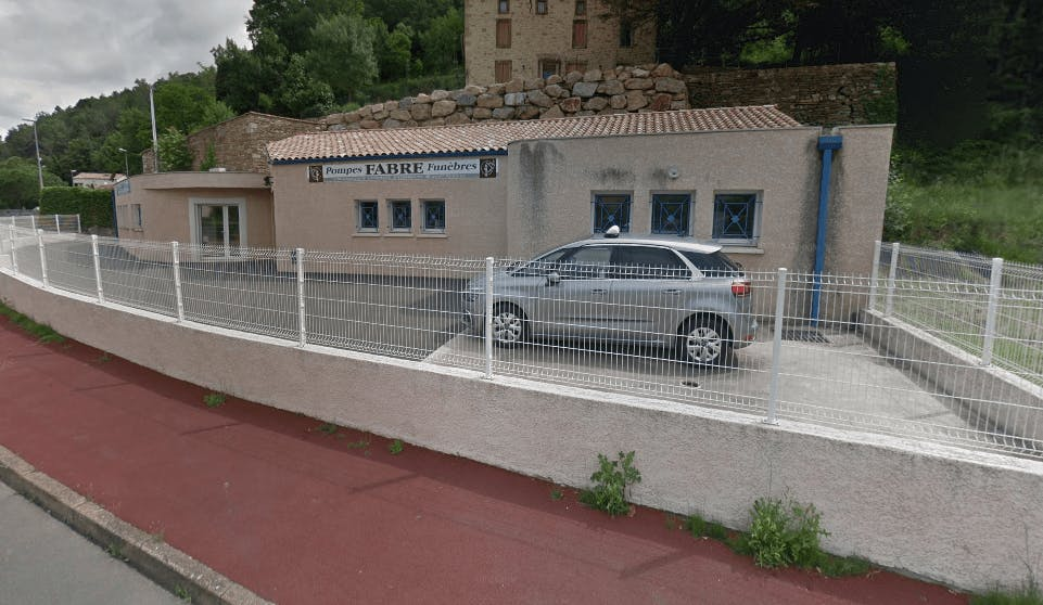 Photographie de la Pompes Funèbres FABRE de la ville de Lamalou-les-Bains