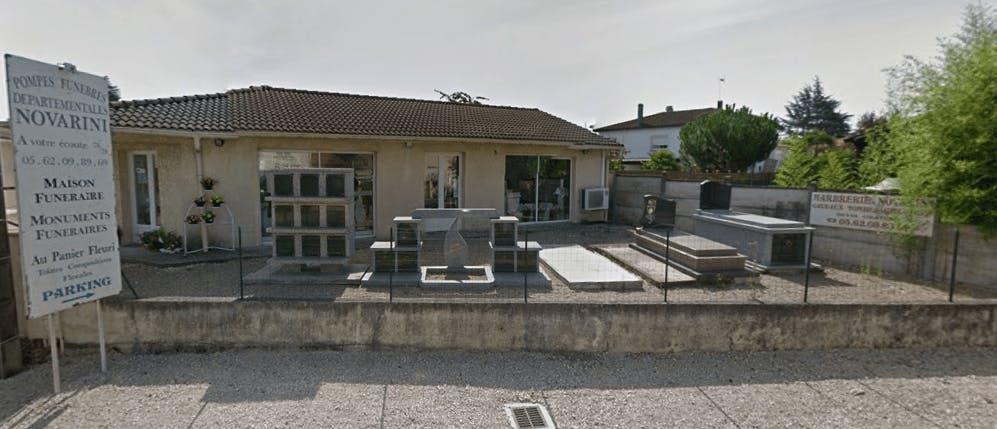 Photographie de la Pompes Funèbres Novarini de la ville d'Eauze