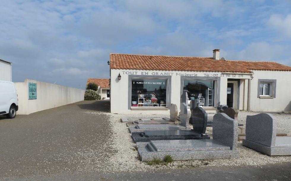 Photographie Pompes Funèbres Andriot de  Longeville-sur-Mer