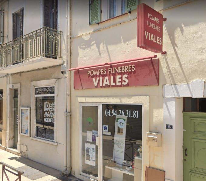 Photographie Pompes Funèbres et Marbrerie Viales de Saint-Cyr-sur-Mer