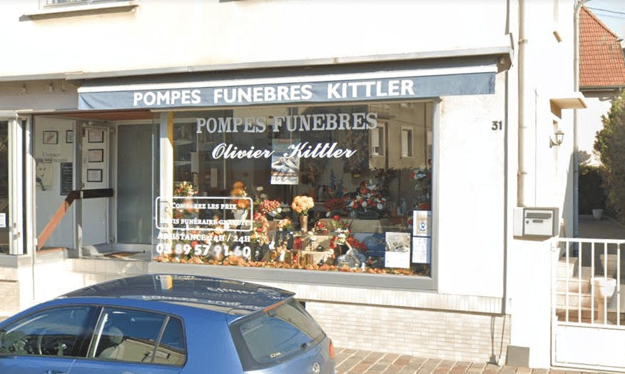Photographie de la Pompes Funèbres Olivier Kittler à Lutterbach