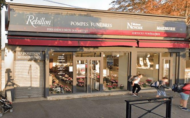 Photographie Rebillon Pompes funèbres et Marbrerie  Champigny-sur-Marne