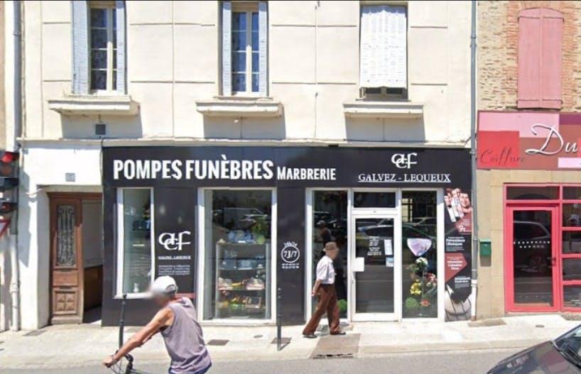 Photographies des Pompes Funèbres ACF-Galvez-Lequeux à Pamiers