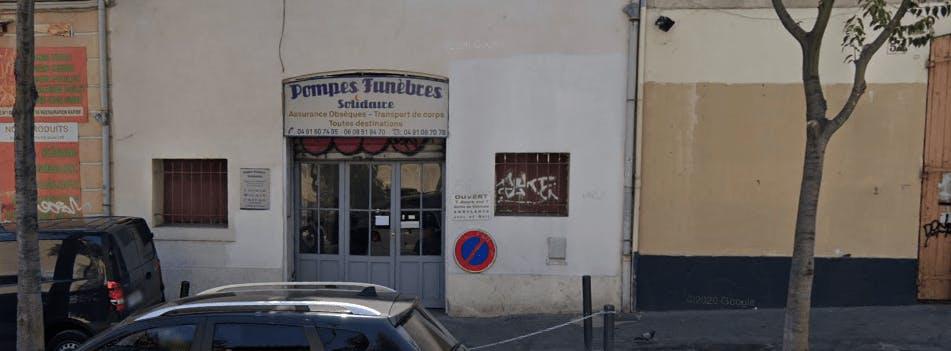 Photographie de la Pompes Funèbres la Bienfaisance Ihssen à Marseille