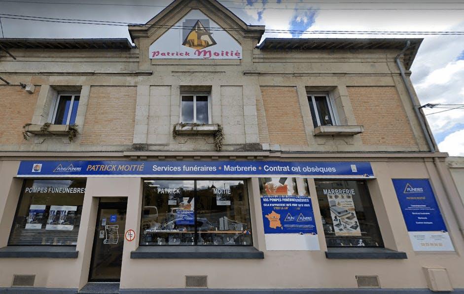 Photographie de la Pompes Funèbres Patrick Moitié de la ville de Belleu