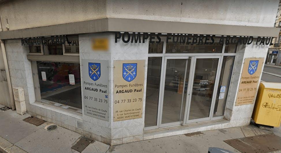 Photographie de Pompes Funèbres Argaud Paul de Saint-Étienne