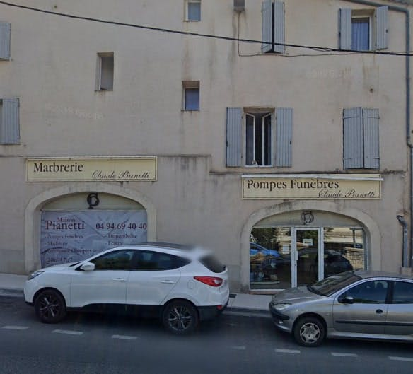 Photographies des Pompes Funèbres Claude Pianetti à Brignoles