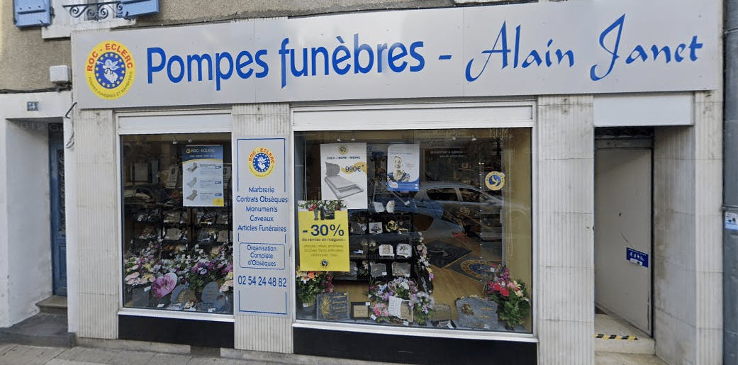 Photographie Pompes Funèbres Roc-Eclerc de Argenton-sur-Creuse