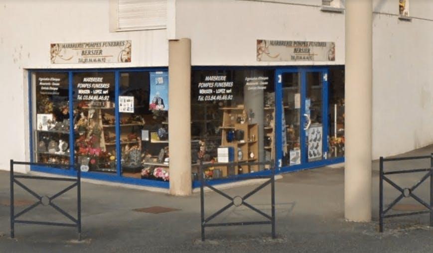Photographie de la Pompes Funèbres et marbrerie Bersier-Lopez à Hericourt
