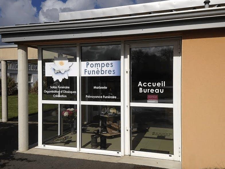 Photographie de la Pompes Funèbres Deschamps à Évran