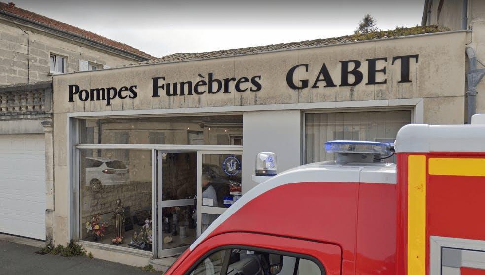 Photographie de la Pompes Funèbres Gabet à La Rochefort