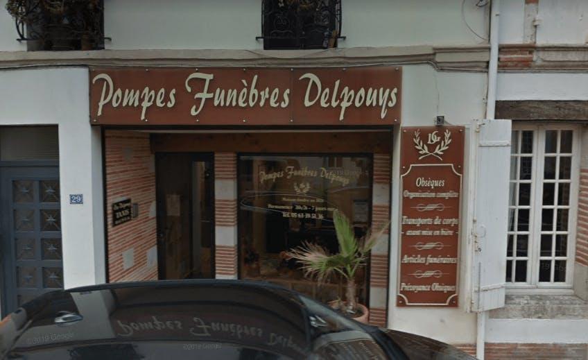 Photographie de la Pompes Funèbres Delpouys à Valence