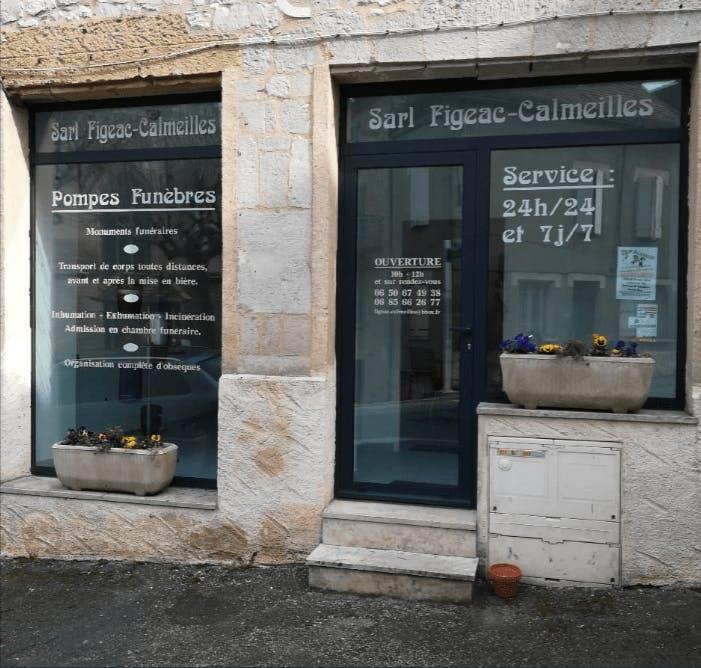 Photographie de Pompes funèbres Figeac-Calmeilles de Salviac