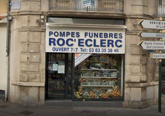 Photographie des Pompes Funèbres Roc-Eclerc à Nancy