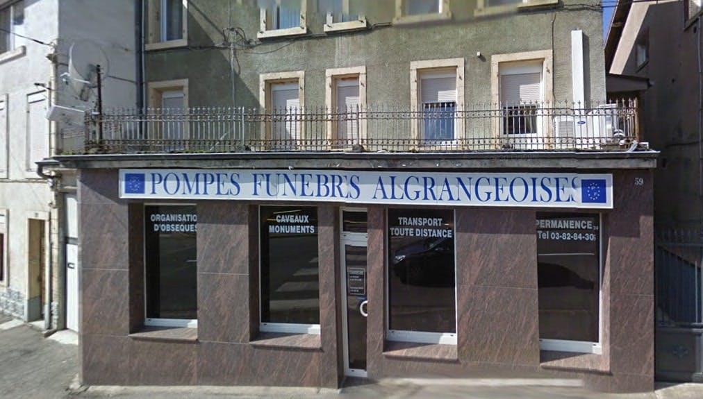 Photographies des Pompes Funèbres Algrangeoises à Algrange