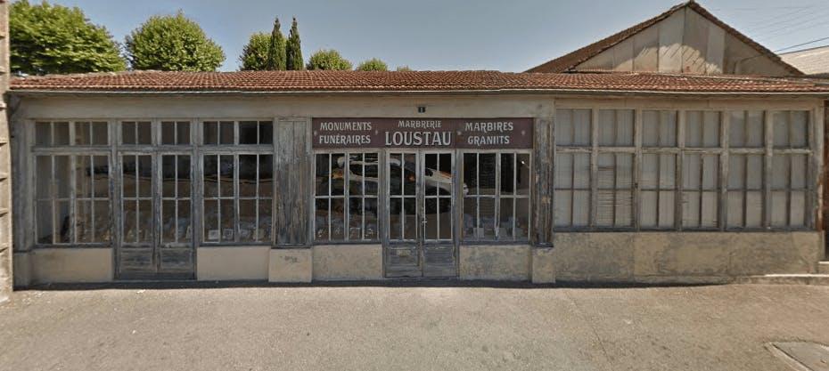 Photographie de la Marbrerie Loustau de la ville d'Orthez