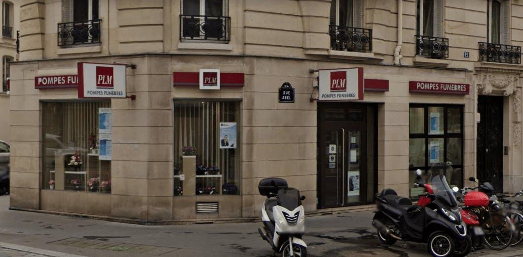 Photographie de la Pompes Funèbres et Marbrerie PLM à Paris