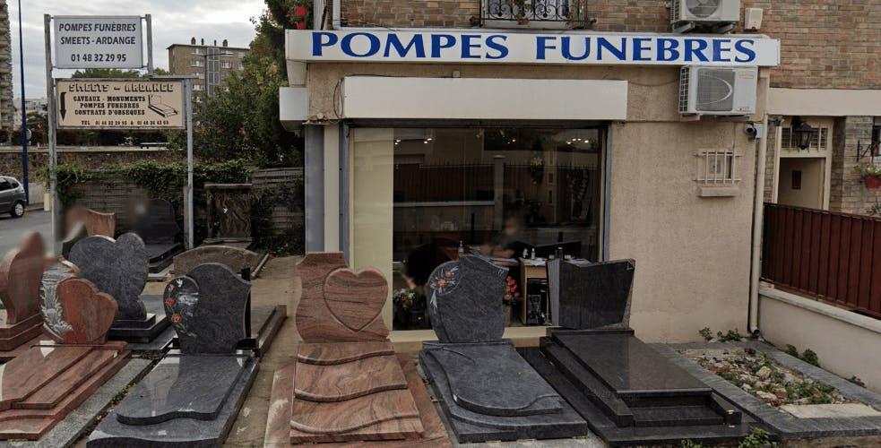 Photographie de la Pompes Funèbres Smeets-Ardange à Drancy