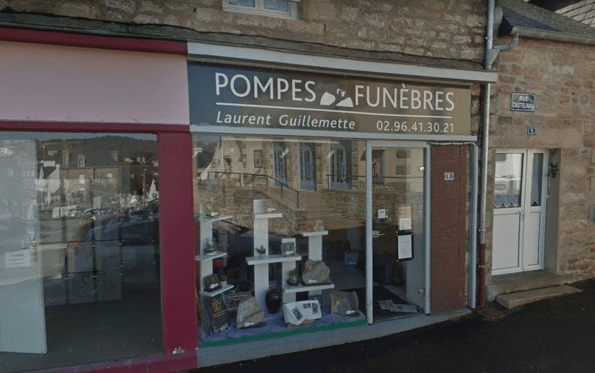 Photographie de la Pompes Funèbres Laurent Guillemette à Erquy
