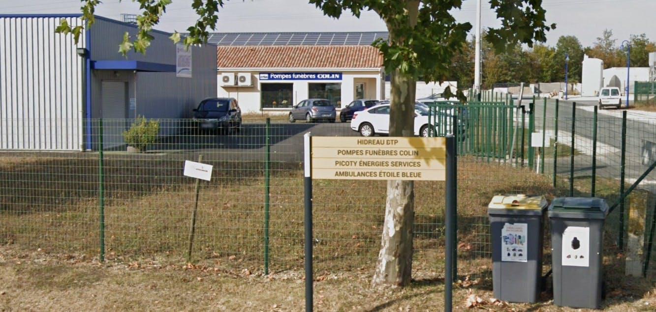 Photographies des Pompes Funèbres Colin à Blanzac-lès-Matha
