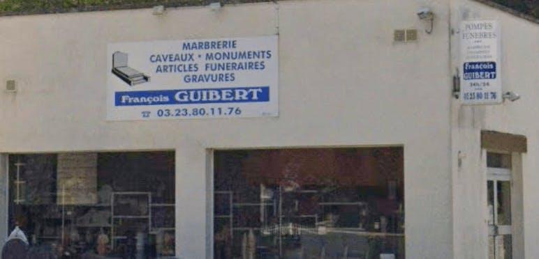Photographie de la Pompes Funèbres Et Marbrerie François Guibert de la ville de Pinon