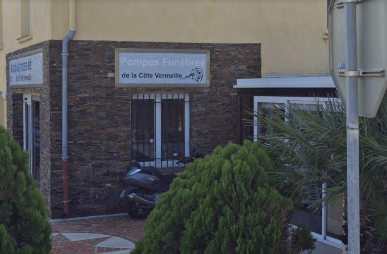 Photographie de la Pompes Funèbres de la Côte Vermeille à Port-Vendres