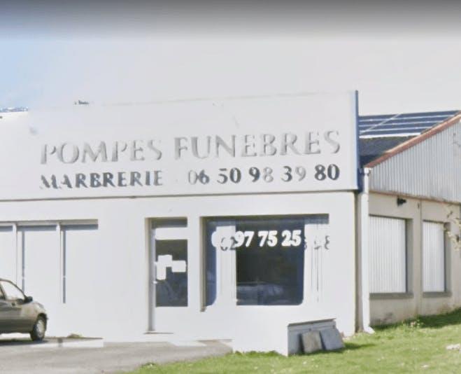 Photographie de la Pompes funèbres et Marbrerie Olivier de la ville de Saint-Marcel