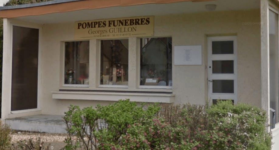Photographie de la Pompes Funèbres Georges Guillon de la ville de Saint-Rémy-sur-Avre