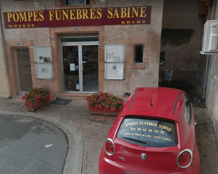 Photographie Pompes Funèbres Sabine de Lombez
