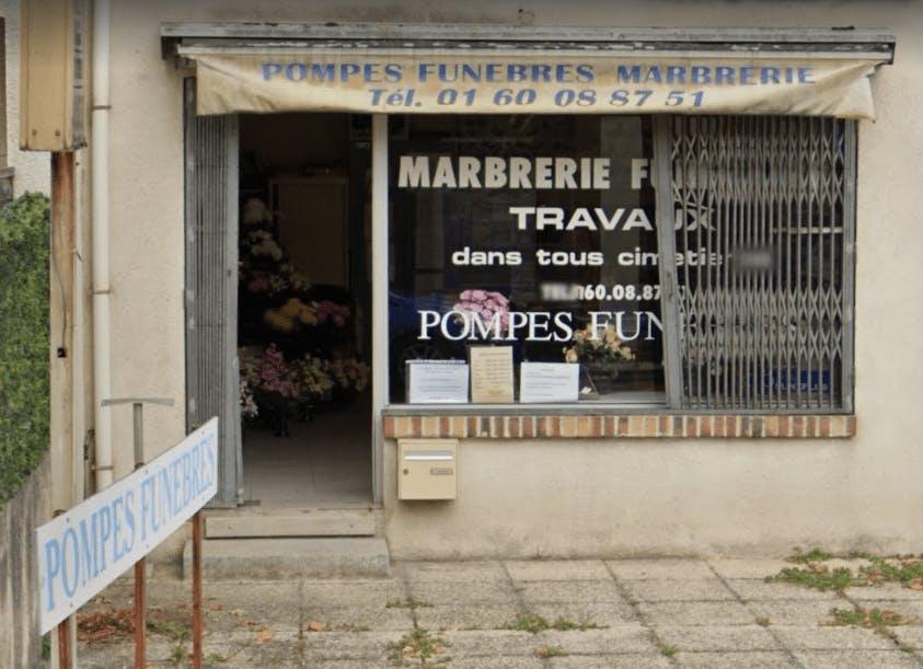 Photographie Pompes Funèbres APFM Marbrerie Affaire de Courtry