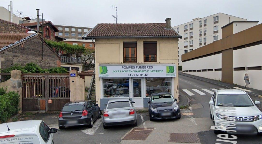 Photographies des Pompes funèbres Marbrerie Pascal Leclerc à Firminy