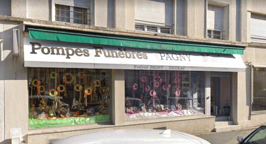 Photographie Pompes Funèbres Marbrerie Pagny de Longwy