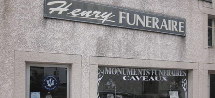 Photographie Pompes Funèbres Henry de Xertigny