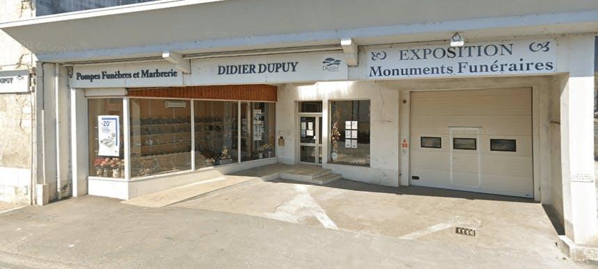 Photographie Pompes Funèbres Didier Dupuy de Villejésus
