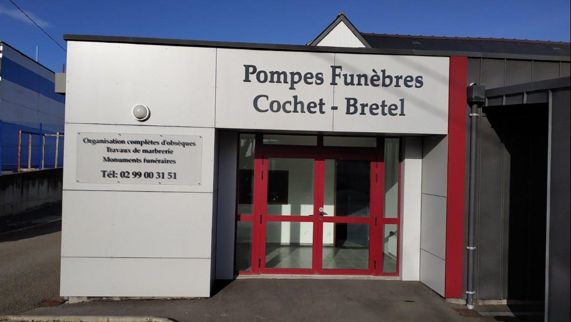 Photographies des Pompes Funèbres Cochet-Bretel à Vern-sur-Seiche