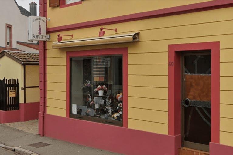 Photographie de la Pompes Funèbres Schwertz à Riedisheim