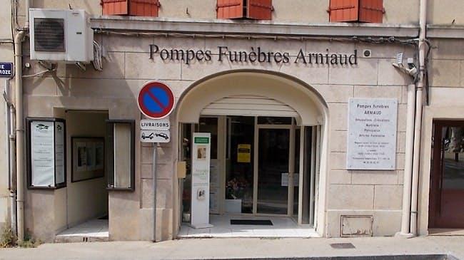 Photographies des Pompes Funèbres Marbrerie Arniaud à Pertuis