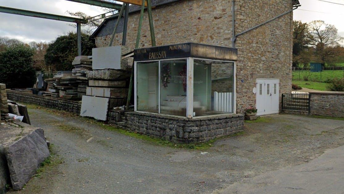 Photographies de la Marbrerie Max Baussan à Rives-du-Couesnon