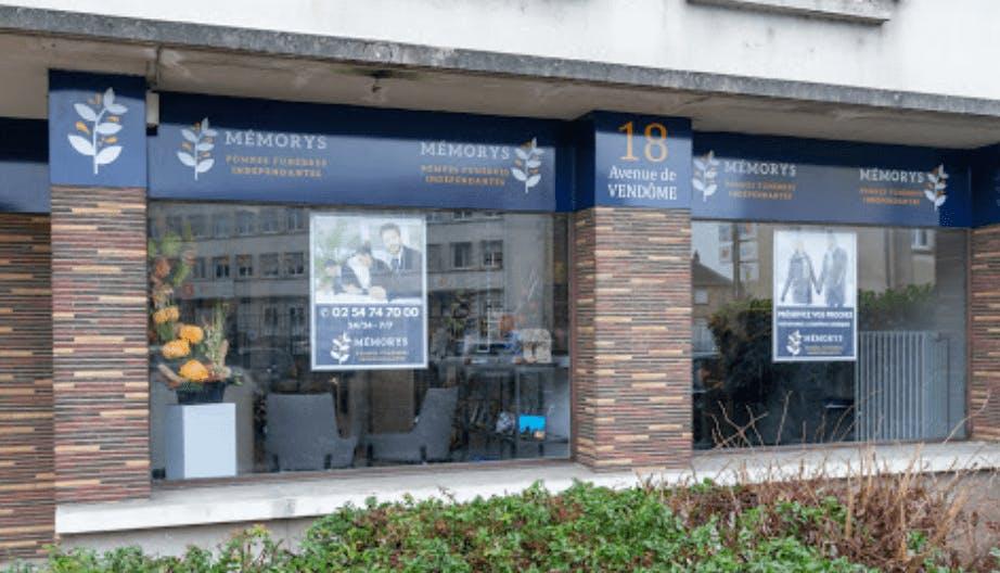 Photographie Pompes Funèbres Memorys de Blois